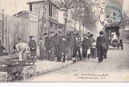 Montreuil. La Marché Aux Puces