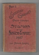 Stanley Gibbons Catalogue 1917 - Books On Collecting