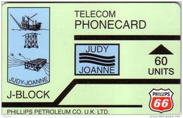 UK GB PETROLEUM PHILLIPS JUDY-JOANNE J BLOCK 60U UT - Olie
