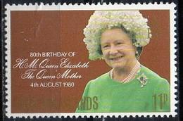 PIA - ISOLE  FALKLAND  - 1980 : 80° Compleanno Della Regina Madre Elisabetta - (Yv 305) - Falkland