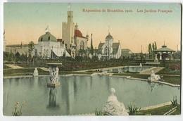 Exposition De Bruxelles 1910 Les Jardins Français - Tentoonstellingen