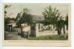 Saint Julien L'Ars Forêt De Moulières Maison Du Brigadier Forestier (colorisée) - Andere Gemeenten