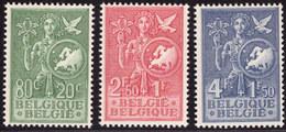 Belgium 0927/29*  Idee Europeenne - Unused Stamps