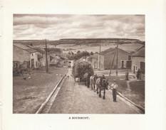 1948 - Héliogravure - Bourmont (Haute-Marne) - Une Rue - FRANCO DE PORT - Alte Papiere