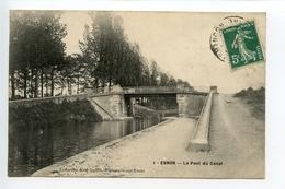 Esnon Le Pont Du Canal - France