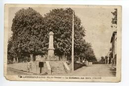 Ladignac Le Long Le Monument Aux Morts - Andere Gemeenten