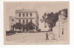 CARTHAGE - Entrée Du Musée Et Grand Hôtel ST LOUIS - Tunisie