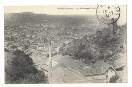 GIVORS  (cpa 69)  Les Moulinages FAURE -   - L 1 - Givors
