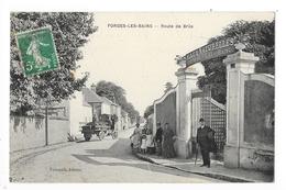 FORGES-les-BAINS  (cpa 91)  Route De Brüs -   - L 1 - France