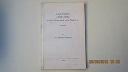 POESIE / LEON DEUBEL ( 1879-1913 ) Sein Leben Und Sein Dichten, Von Dr GÜNTHER MAUNTZ / 1932 / THESE - Altri
