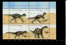 443109635 ARGENTINIE DB 1998 POSTFRIS MINTNEVER HINGED POSTFRIS NEUF YVERT 2062 2063 2064 2065 - Unused Stamps