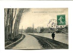 CP - NOGENT SUR SEINE (10) VUE PRISE DU CHEMIN DE LA DIGUE - Nogent-sur-Seine