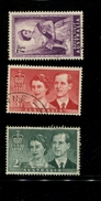 443117034 AUSTRALIA DB 1954 GEBRUIKT USED OBLITERE GEBRAUCHT YVERT 207 208 209 - 1952-65 Elizabeth II : Ed. Pré-décimales