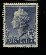 443117560 AUSTRALIA DB 1955 GEBRUIKT USED OBLITERE GEBRAUCHT YVERT 218 - 1952-65 Elizabeth II : Ed. Pré-décimales