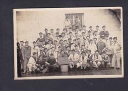 Carte Photo Brest Groupe Militaire Marin Marins Du 2 2è Depot Des Equipages De La Flotte Centre Des Cuisiniers - Brest