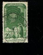 443120759 AUSTRALIA AAT DB 1959 GEBRUIKT USED OBLITERE GEBRAUCHT YVERT 5 - Territoire Antarctique Australien (AAT)
