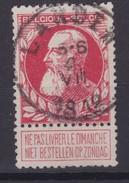 N° 74  LANDEN  COBA +8.00 - 1905 Grosse Barbe