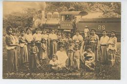 GUATEMALA - Colonos De Hacienda BUENA VISTA  (train ) - Guatemala