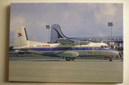 AIR INTER   NORD 262  F BLHU       COLLECTION VILAIN N° 840 - 1946-....: Era Moderna