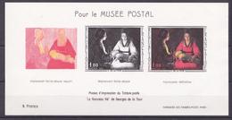 N° 1479b  Document Philathélique: Les Phase D'impression Pour Le Musée Postal - Unused Stamps