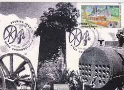 Carte Maximum FDC N° 133 Vestiges De Lo'industrie Sucriere 21 Septembre 2002 - Brieven En Documenten