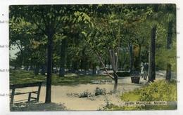 GREECE LESBOS METELIN MYTILENE  Jardin Municipal 1900s Postcard - Grèce