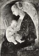 Urbino - Cartolina Affresco Di MADONNA COL BAMBINO Di RAFFAELLO SANZIO, Casa Di Raffaello - PERFETTA N46 - Vergine Maria E Madonne