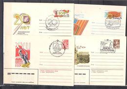Lot  200 Small Collection Of Enveloped With Special Stempel (3 Scans, 14 Envelopes) - Collections (without Album)