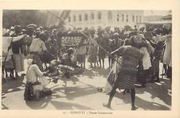 Ref T594- Djibouti - Danse Soudanaise -soudan   -carte Bon Etat  -postcard In Good Condition  - - Djibouti