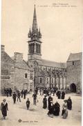 St-CAST  -  L'Eglise - Sortie De Messe - Sonstige Gemeinden