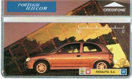 PHONECARDS-- PORTUGAL-- PORTUGAL TELECOM  OPTICAL- 50 U---FARAUTO --BATCH  411L - Portugal
