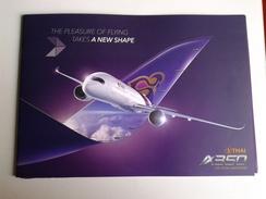 Alt1005 Thai Airlines Thailand Bangkok Airbus A350 Airport Flights Aereo Avion Class Seating Plan Cabin VIP Class Lounge - Pubblicità