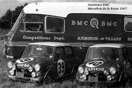 Assistance BMC Marathon De La Route 1967 - CARTE PHOTO MODERNE - Rally Racing