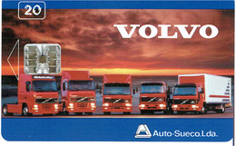 PHONECARDS-- PORTUGAL-- CHIP TLP CARD-20 U- VOLVO- MINT- NOVO--- ONLY 1000 - Portugal