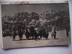 Peru With People And Animals - Peru