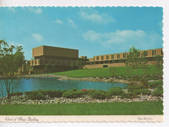 Cpa.Etats-Unis.1975.University Of Michigan.School Of Music Building. 10,5 X 15 Cm - Etats-Unis