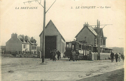 FINISTERE  LE CONQUET  La Gare - Le Conquet