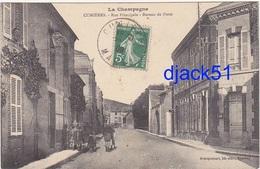 51 - La Champagne - CUMIERES - Rue Principale - Bureau De Poste - 1909 / Animation - Other Municipalities
