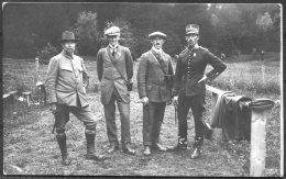 1912 Sweden Stockholm Olympics Official Postcard No 39 Swedish Pistol Shooting Team - Olympic Games