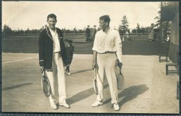 1912 Sweden Stockholm Olympics Official Postcard No 46 Tennis Men's Doubles Winners, Kitson & Winslow, South Africa - Olympic Games