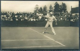 1912 Sweden Stockholm Olympics Official Postcard No 51 South Africa, Winslow, Tennis Singles Winner - Olympic Games