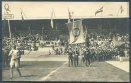 1912 Sweden Stockholm Olympics Official Postcard No 80 Swedish Team - Olympic Games