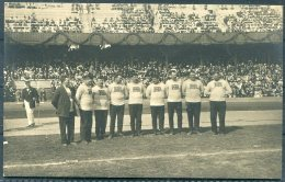 1912 Sweden Stockholm Olympics Official Postcard No 116 The English Tug Of War Team - Olympic Games