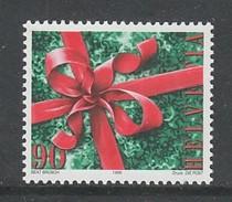 TIMBRE NEUF DE SUISSE - NOËL 1998 : NOEUD SUR CADEAU N° Y&T 1592 - Christmas