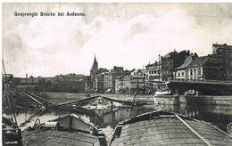 129 ANDENNE Gesprengte Brucke - Andenne