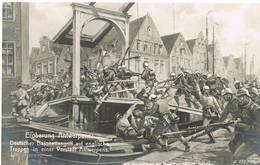 135 ANTWERPEN Deutscher Bajonettangriff In Vorstadt Antwerpens - Antwerpen