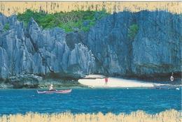 Limestones Cliffs In El Nido Palawan    Philliphines.   # 05880 - Philippines