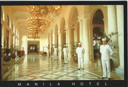 Manila Hotel  Antelobby.    Philliphines.   # 05881 - Philippines