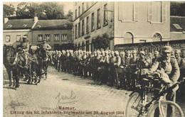 148 JAMBES Carte Allemande 14/18 - Namur