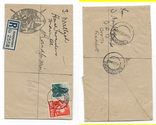 S.Africa,  Kwa Teba Mine Envelope, Registered 1942, Local,  ROODEPOORT > RANDFONTEIN - South Africa (...-1961)